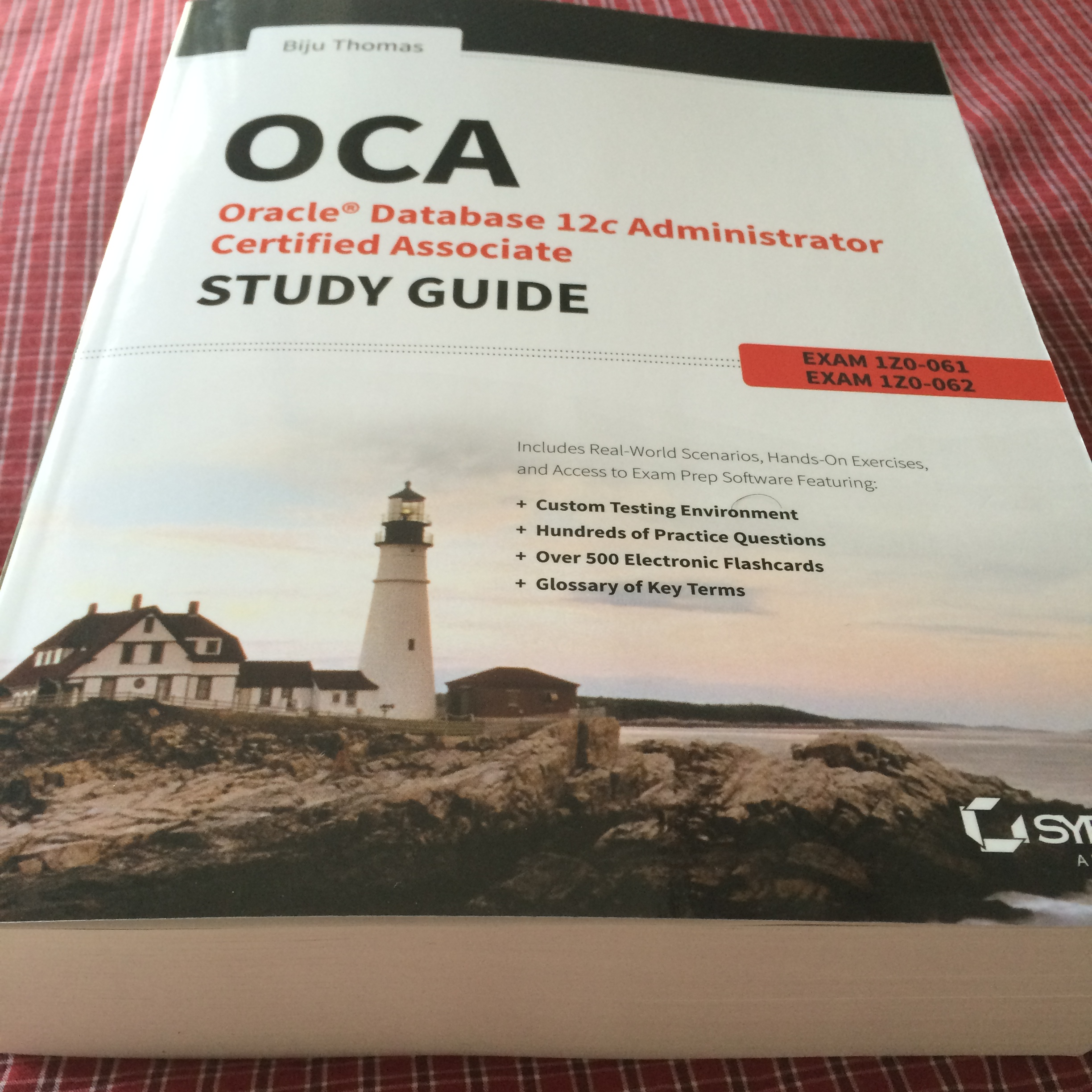 Oracle database 12c administrator certified associate study guide its a big book xflitez Image collections